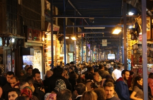 02-02-15 Spice Bazaar Crowded
