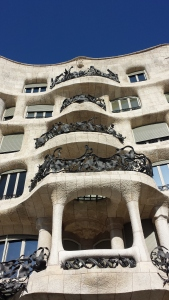 Casa Milà, also known as La Pedrera