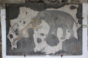 02-05-15 - Elephant and Lion Mosaic