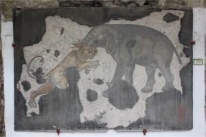 02-05-15 - Elephant and Lion Mosaic