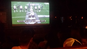 Watching Super Bowl XLIX at the James Joyce Irish Pub in Istanbul