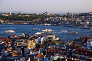 The view that awaits us from atop Galata Tower.  Photo credit: Tania Ho.