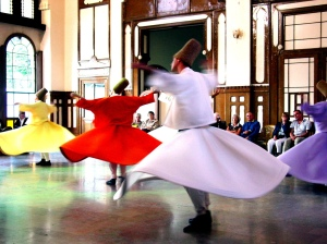 Whirling Dervishes.  Photo credit: Vladimer Shioshvili