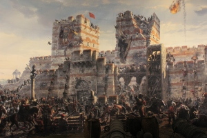 05-25-15 - Siege of Constantinople from 1453 Panorama