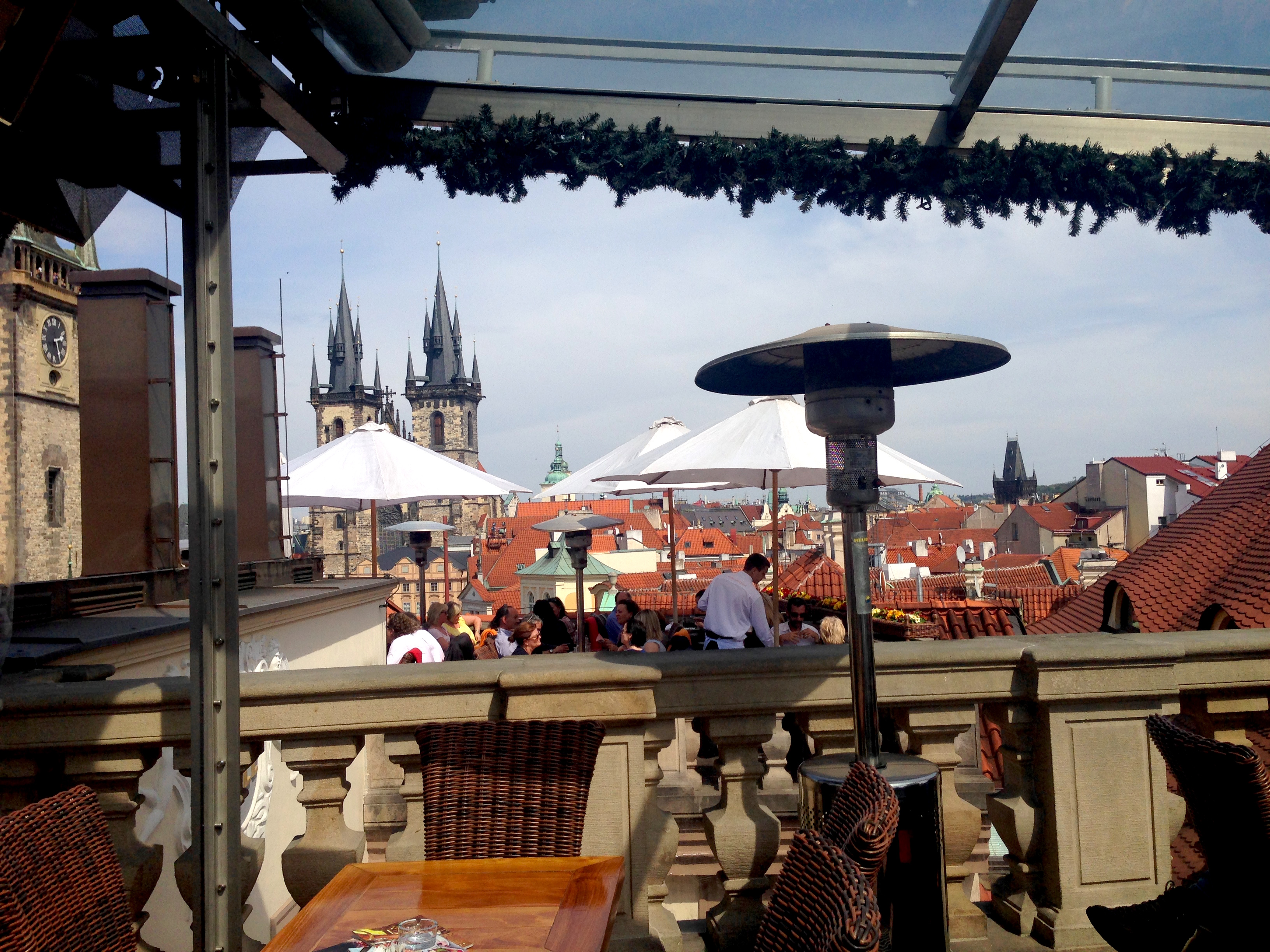 How to visit prague in two days no ticket back for Terrace u prince prague