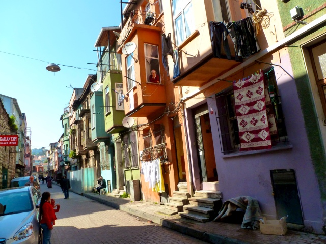 Balat neighborhood, not too far from the land walls.